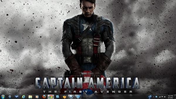 Captain America Best Windows 7 Themes