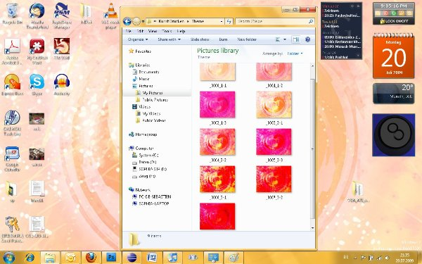 Heart Best Windows 7 Themes