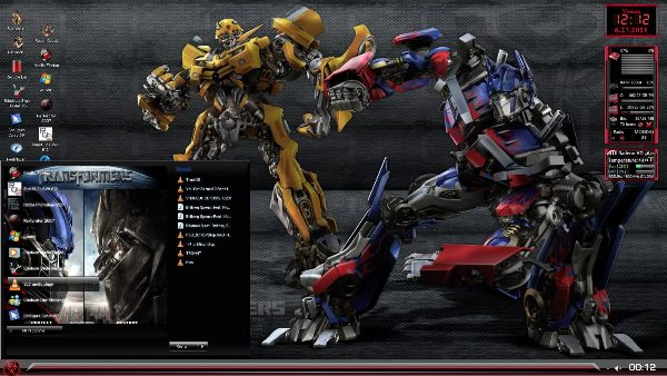 Transformers 3 Best Windows 7 Themes