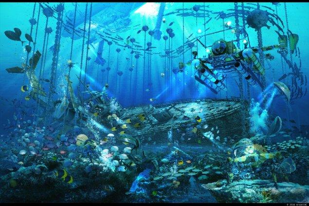 Mystery of Underwater Treasure