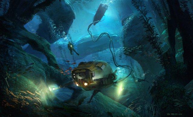 Underwater3 Underwater Digital Paintings