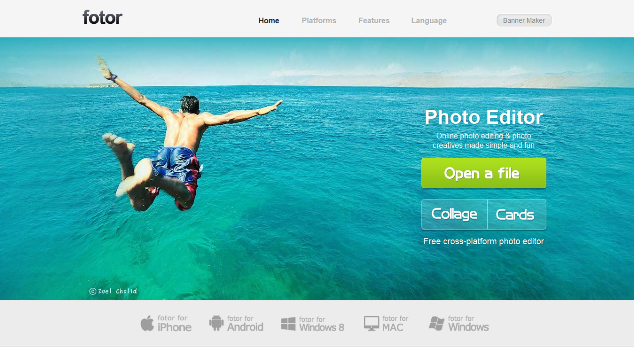 fotor- Online Photo Editing Websites