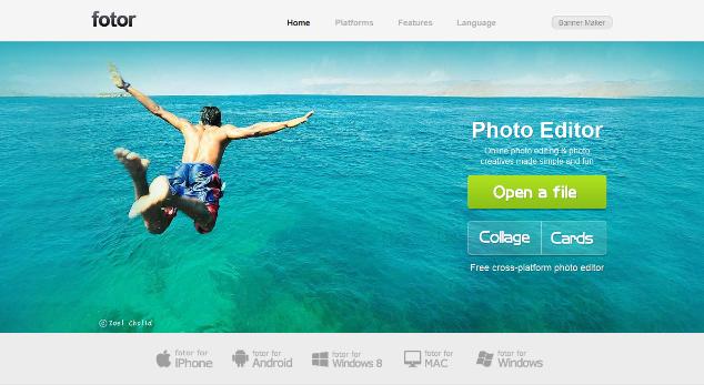 fotor- Online Photo Editing Websites