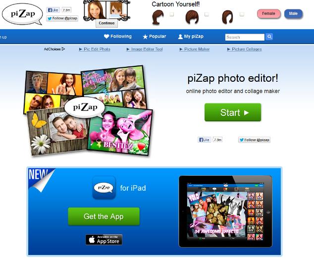 pizap-online-photo-editor