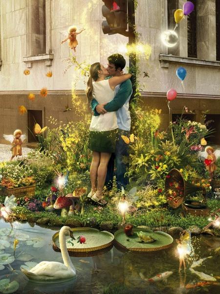 Love Spirit Mobile Wallpaper