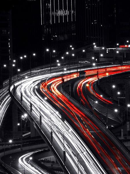 Night Bridges Mobile Wallpaper