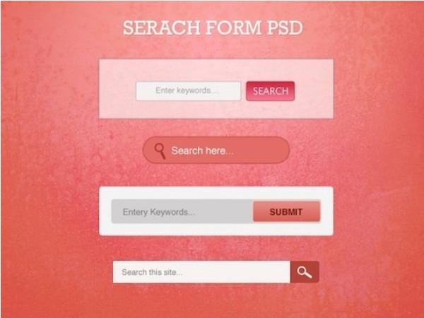 Free Minimal Search Box