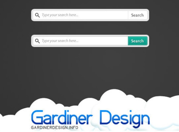 Freebie Search Box PSD