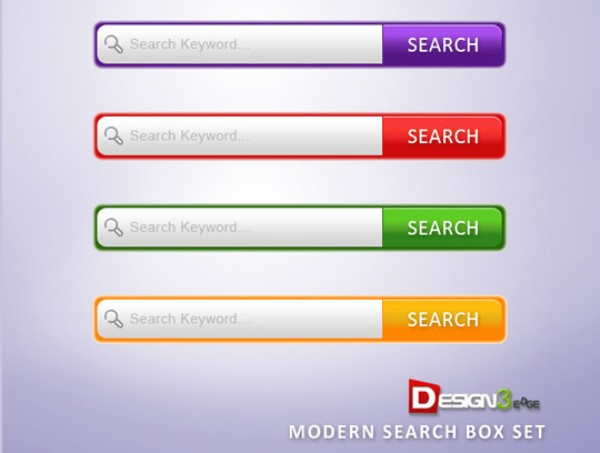 Modern Search Box Set