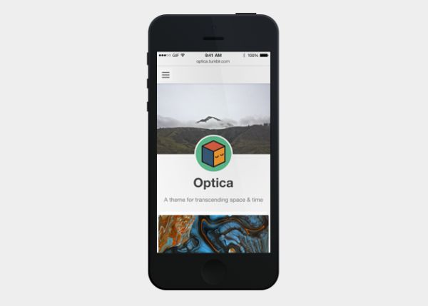 optica Best Free Tumblr Themes