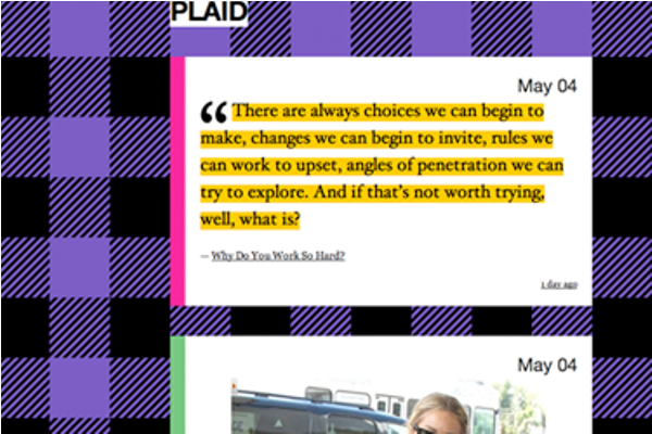 plaid Best Free Tumblr Themes