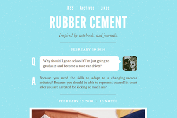 rubber-cement