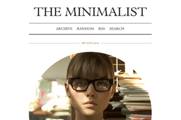 the-minimalist Best Free Tumblr Themes