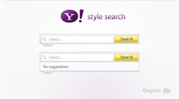 Yahoo Style Search Box