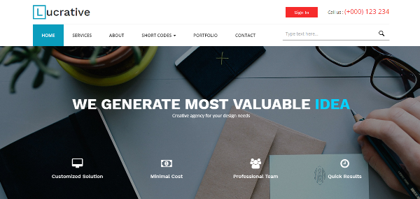275 best free responsive html5 css3 website templates voiceable lucrative a corporate business category flat bootstrap responsive web template fbccfo Gallery