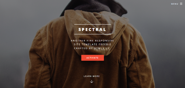 125 Best Free HTML5 Website Templates for Inspiration