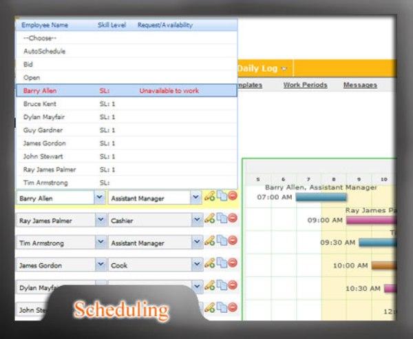 employee scheduling software